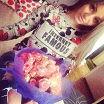 Спасибо за цветы и подарки